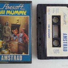 Videojuegos y Consolas: JUEGO AMSTRAD -OH MUMMY.. Lote 57699158