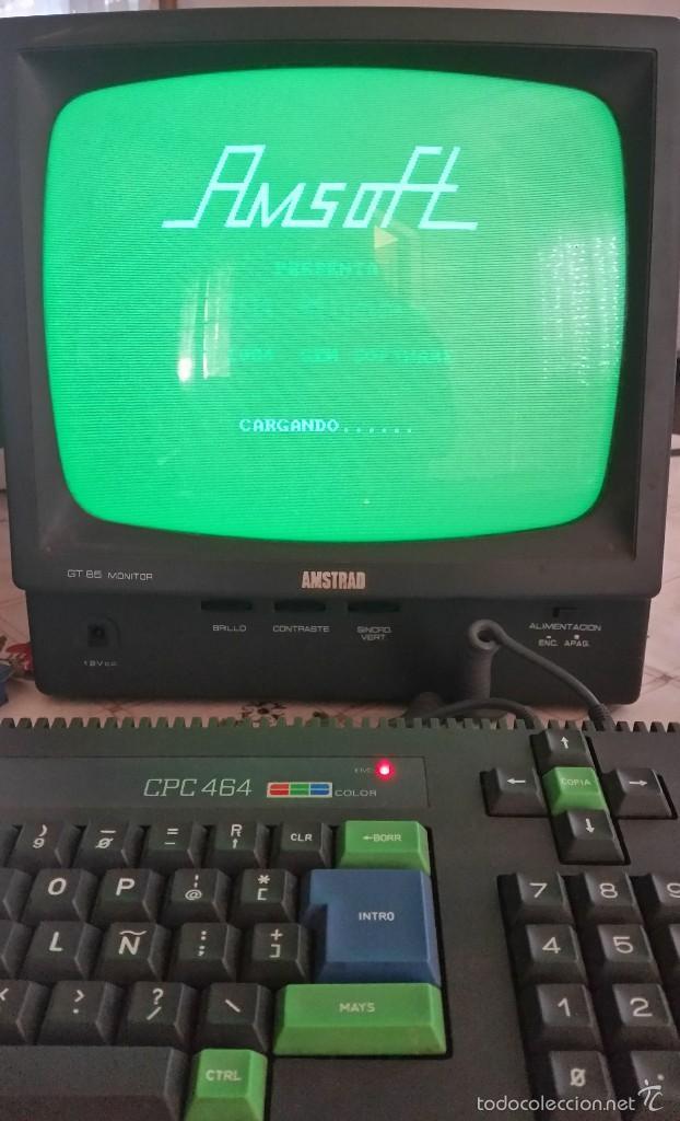 Videojuegos y Consolas: AMSTRAD CPC 464 + JUEGO ORIGINAL, OH MUMMY + MANUAL ORIGINAL + JOCKSTICK --FUNCIONA-- - Foto 2 - 58110316