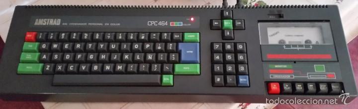 Videojuegos y Consolas: AMSTRAD CPC 464 + JUEGO ORIGINAL, OH MUMMY + MANUAL ORIGINAL + JOCKSTICK --FUNCIONA-- - Foto 3 - 58110316