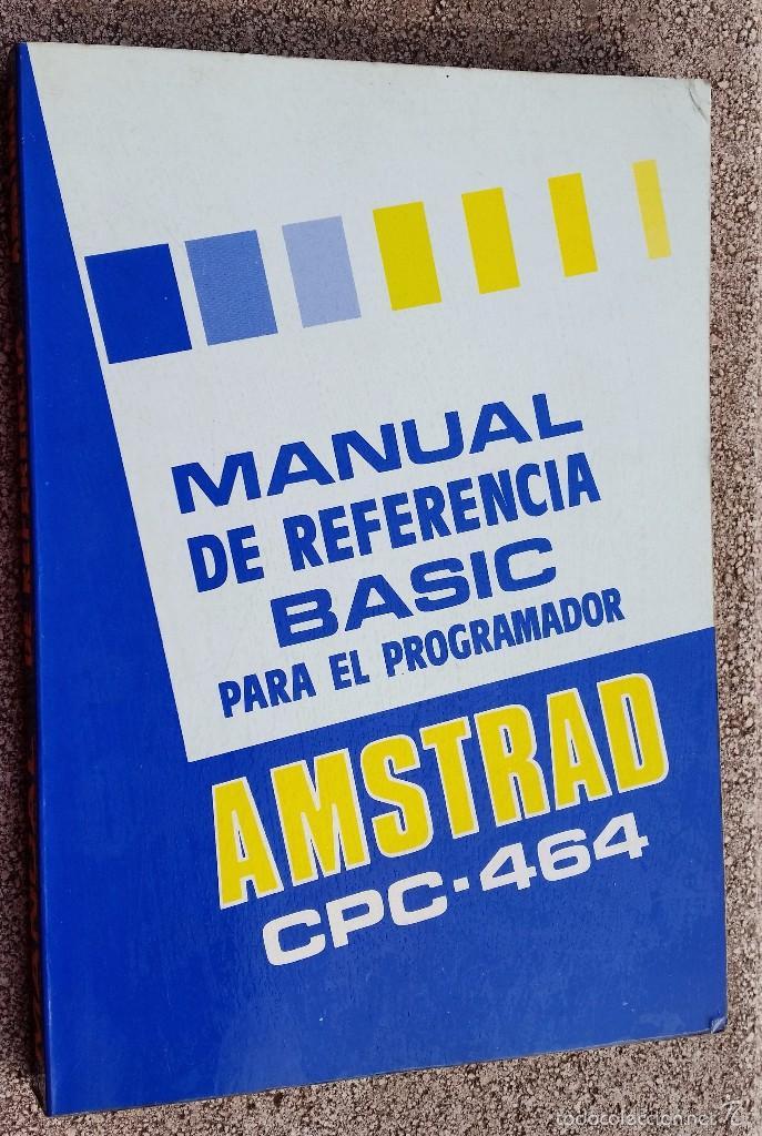 Videojuegos y Consolas: AMSTRAD CPC 464 + JUEGO ORIGINAL, OH MUMMY + MANUAL ORIGINAL + JOCKSTICK --FUNCIONA-- - Foto 6 - 58110316