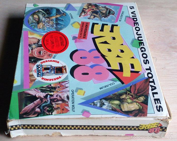 Videojuegos y Consolas: Erbe 88 (Contiene 5 juegos) / Juego Amstrad CPC Cinta / Español / Erbe 1988 - Foto 3 - 52433784