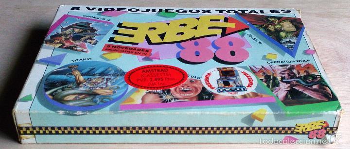 Videojuegos y Consolas: Erbe 88 (Contiene 5 juegos) / Juego Amstrad CPC Cinta / Español / Erbe 1988 - Foto 4 - 52433784