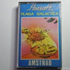 Videojuegos y Consolas: JUEGO AMSTRAD PLAGA GALACTICA. Lote 59536839