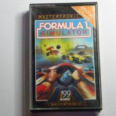 Videojuegos y Consolas: JUEGO AMSTRAD FORMULA 1 SIMULATOR. Lote 59537167