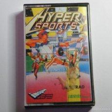 Videojuegos y Consolas: JUEGO AMSTRAD HYPERSPORTS. Lote 59537215