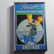 Videojuegos y Consolas: JUEGO AMSTRAD ALMIRANTE GRAF SPEE. Lote 59537263