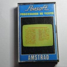 Videojuegos y Consolas: JUEGO AMSTRAD PROCESADOR DE TEXTO. Lote 59537415