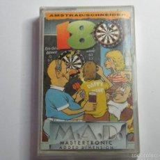 Videojuegos y Consolas: JUEGO AMSTRAD 18 DARTS DARDOS. Lote 59537787