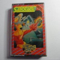 Videojuegos y Consolas: JUEGO AMSTRAD SABOTAGE. Lote 59538595