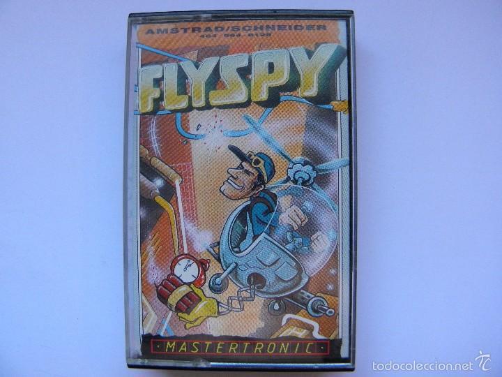 JUEGO AMSTRAD FLYSPY (Juguetes - Videojuegos y Consolas - Amstrad)