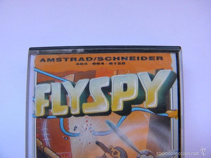 Videojuegos y Consolas: JUEGO AMSTRAD FLYSPY - Foto 2 - 59538683