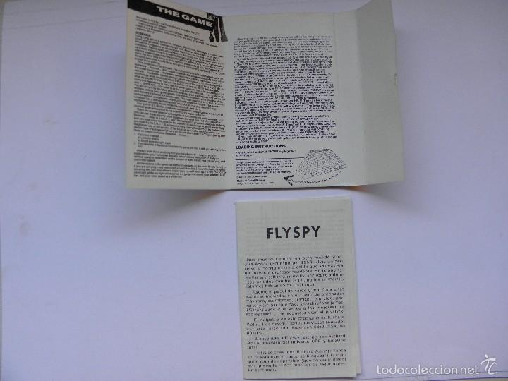 Videojuegos y Consolas: JUEGO AMSTRAD FLYSPY - Foto 4 - 59538683