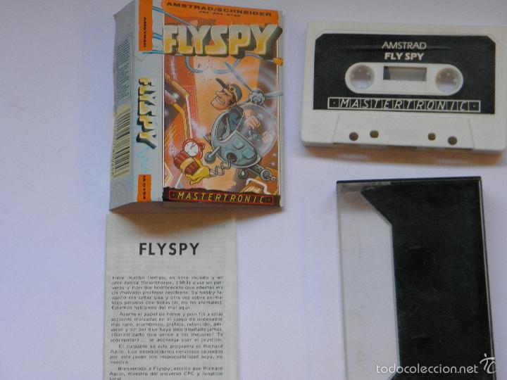 Videojuegos y Consolas: JUEGO AMSTRAD FLYSPY - Foto 5 - 59538683