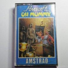 Videojuegos y Consolas: JUEGO AMSTRAD OH MUMMY. Lote 59539003