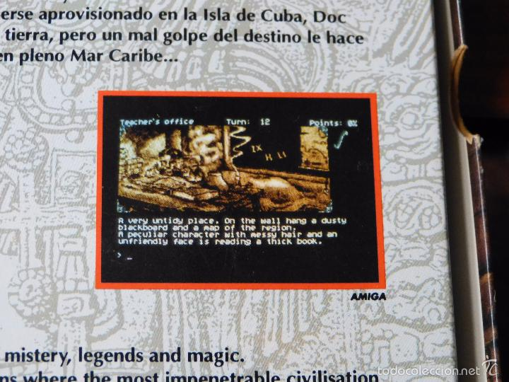 Videojuegos y Consolas: COZUMEL PARA AMSTRAD PCW (DE AD) SUPER DIFÍCIL EN ESTA VERSIÓN - Foto 4 - 61025571