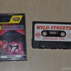 Videojuegos y Consolas: WILD STREET AMSTRAD. Lote 61027579