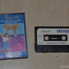 Videojuegos y Consolas: ROLAND EN EL TIEMPO AMSTRAD. Lote 61027719