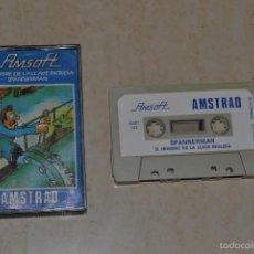 Videojuegos y Consolas: EL HOMBRE DE LA LLAVE INGLESA AMSTRAD. Lote 61027807