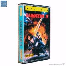 Videojuegos y Consolas: SABOTEUR II 2 / JUEGO AMSTRAD CPC CINTA / ESPAÑOL / DURELL ERBE 1986. Lote 61135667