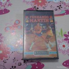 Videojuegos y Consolas: FERNANDO MARTÍN BASKET MASTER AMSTRAD CPC 464 JUEGO VIDEOJUEGO CASSETE CON CAJA E INSTRUCCIONES. Lote 61288227