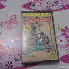 Videojuegos y Consolas: EXPRESS RAIDER AMSTRAD CPC 464 JUEGO VIDEOJUEGO CASSETE CON CAJA ERBE U.S. GOLD. Lote 61292927