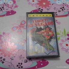 Videojuegos y Consolas: TARGET RENEGADE AMSTRAD CPC 464 JUEGO VIDEOJUEGO ERBE IMAGINE CASSETE CON CAJA. Lote 61293147