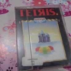 Videojuegos y Consolas: TETRIS MIRROR SOFT AMSTRAD CPC 464 JUEGO VIDEOJUEGO CASSETE CAJA E INSTRUCCIONES CINTA. Lote 61295167