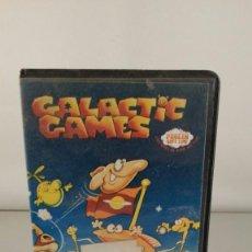 Videojuegos y Consolas: JUEGO AMSTRAD CASSETTE - GALACTIC GAMES . Lote 61365207