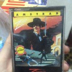 Videojogos e Consolas: JUEGO AMSTRAD ZORRO.. Lote 61982676