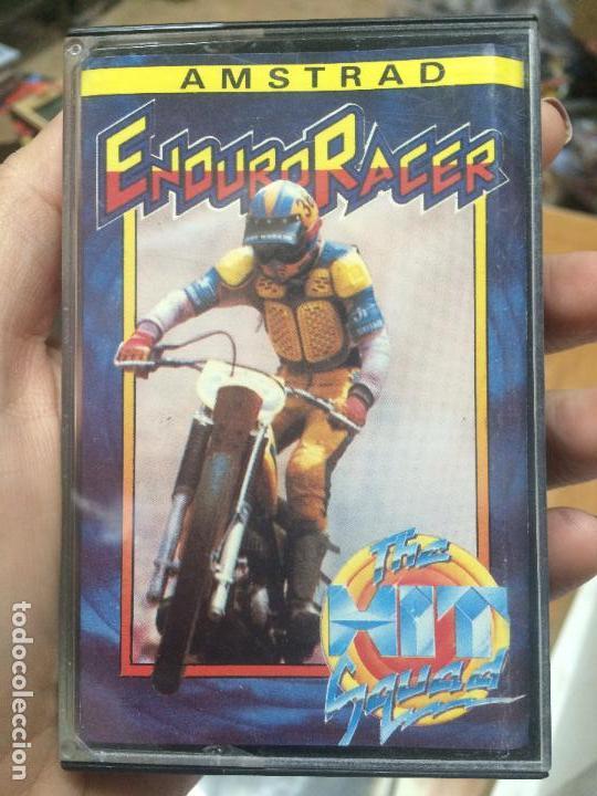 ENDURO RACER - JUEGO AMSTRAD CPC CINTA (1989) ESPAÑOL THE HIT SQUAD / ERBE (Juguetes - Videojuegos y Consolas - Amstrad)