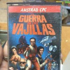 Videojogos e Consolas: AMSTRAD - JUEGO CASSETTE - LA GUERRA DE LAS VAJILLAS - AVENTURAS DINAMIC -1987 - IMPECABLE. Lote 61985604