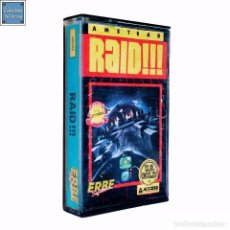 Videojuegos y Consolas: RAID / JUEGO AMSTRAD CPC CINTA / ESPAÑOL / U.S. GOLD ERBE 1985. Lote 62125056