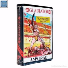 Videojuegos y Consolas: GLADIATOR / JUEGO AMSTRAD CPC CINTA / DOMARK 1986. Lote 62330788