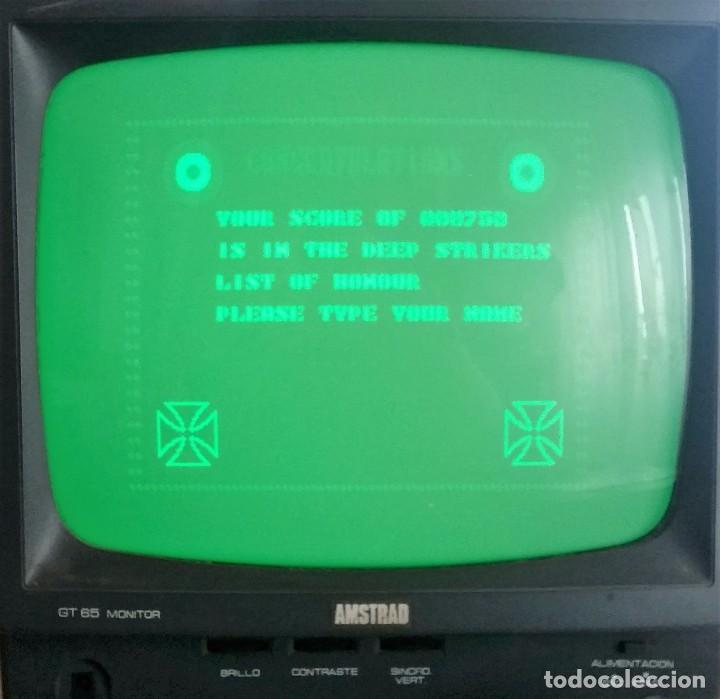 Videojuegos y Consolas: JUEGO AMSTRAD: DEEP STRIKE ---FUNCIONANDO--- - Foto 2 - 62449536