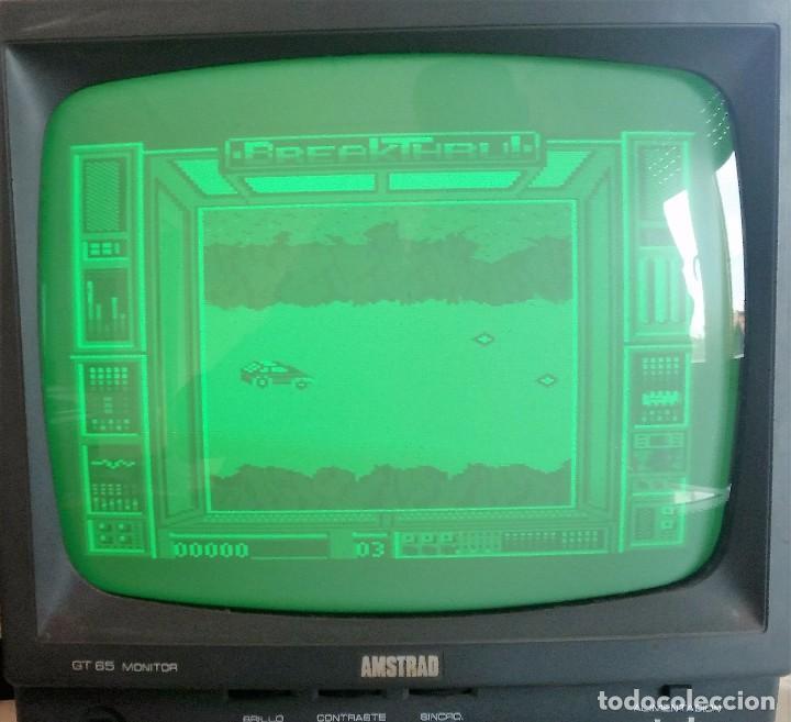Videojuegos y Consolas: JUEGO AMSTRAD: BREAKTHRU ---FUNCIONANDO--- - Foto 3 - 62450192