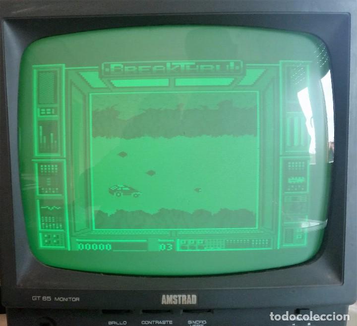 Videojuegos y Consolas: JUEGO AMSTRAD: BREAKTHRU ---FUNCIONANDO--- - Foto 4 - 62450192