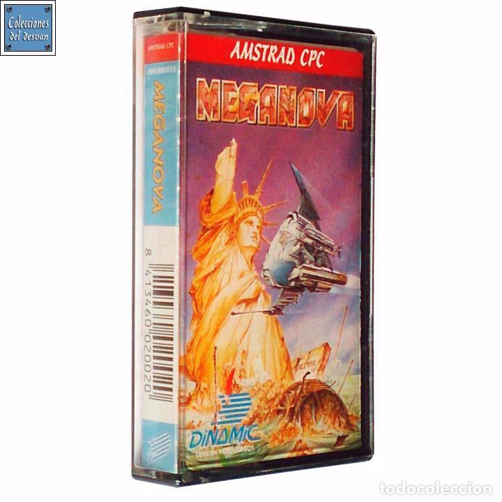 MEGANOVA / JUEGO AMSTRAD CPC CINTA / ESPAÑOL / DINAMIC 1988 ( AZPIRI COVER ) (Juguetes - Videojuegos y Consolas - Amstrad)