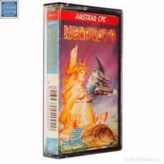 Videojuegos y Consolas: MEGANOVA / JUEGO AMSTRAD CPC CINTA / ESPAÑOL / DINAMIC 1988 ( AZPIRI COVER ). Lote 62593488