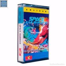 Videojuegos y Consolas: SPACE HARRIER / JUEGO AMSTRAD CPC CINTA / ESPAÑOL / ELITE MCM 1989. Lote 62743184