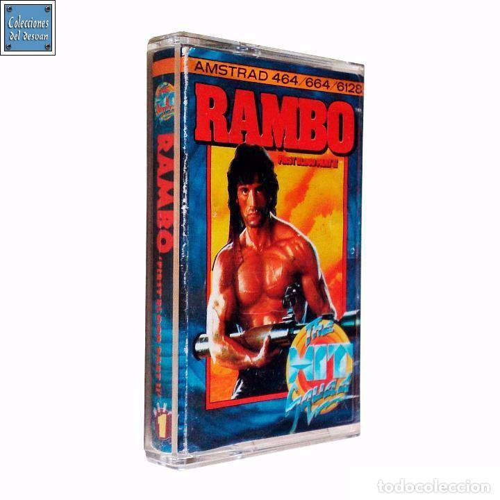 RAMBO / JUEGO AMSTRAD CPC CINTA / THE HIT SQUAD 1986 (Juguetes - Videojuegos y Consolas - Amstrad)