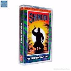 Videojuegos y Consolas: SHINOBI / JUEGO AMSTRAD CPC CINTA / TRONIX 1991. Lote 53005578
