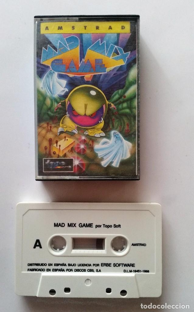 JUEGO AMSTRAD: MAD MIX GAME ---FUNCIONANDO--- (Juguetes - Videojuegos y Consolas - Amstrad)