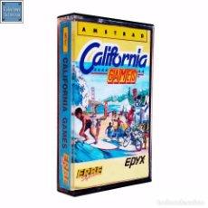 Videojuegos y Consolas: CALIFORNIA GAMES / JUEGO AMSTRAD CPC CINTA / ESPAÑOL / ERBE 1987. Lote 64499899