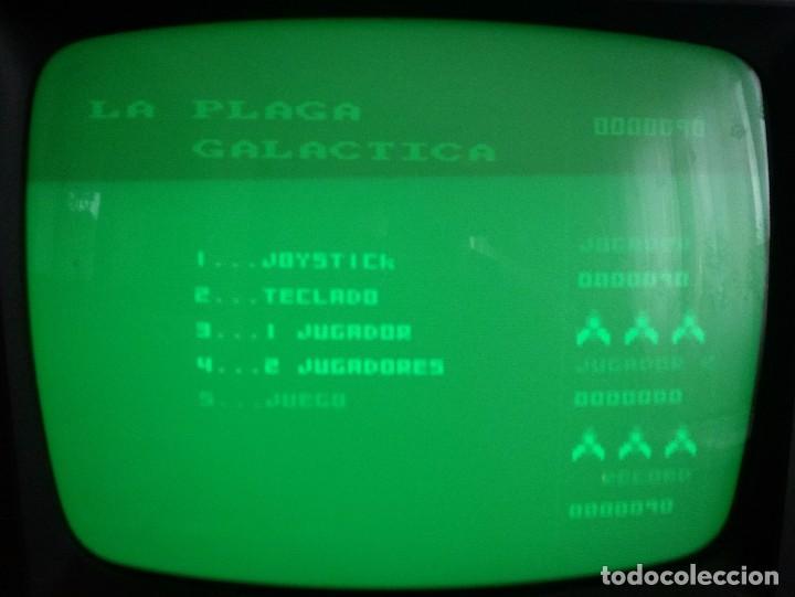 Videojuegos y Consolas: PLAGA GALÁCTICA. JUEGO AMSTRAD EN CASSETTE -FUNCIONANDO- - Foto 2 - 65000179