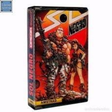 Videojuegos y Consolas: SOL NEGRO / JUEGO AMSTRAD CPC CINTA / ESPAÑOL / OPERA SOFT 1988 ( JUAN GIMÉNEZ COVER ). Lote 65915222