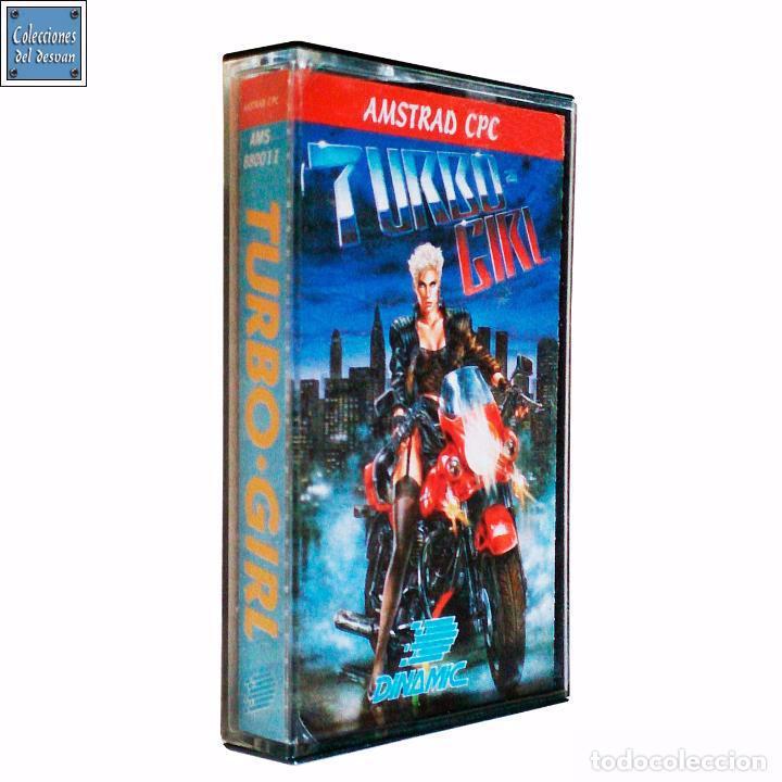 TURBO GIRL / JUEGO AMSTRAD CPC CINTA / ESPAÑOL / DINAMIC 1988 ( LUÍS ROYO COVER ) (Juguetes - Videojuegos y Consolas - Amstrad)