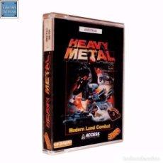 Videojuegos y Consolas: HEAVY METAL / JUEGO AMSTRAD CPC CINTA / ESPAÑOL / U.S. GOLD ERBE 1990. Lote 66314302