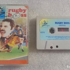 Videojuegos y Consolas: RUGBY BOSS AMSTRAD CPC 646 464 PLUS 1268 CASSETTE. Lote 67974117