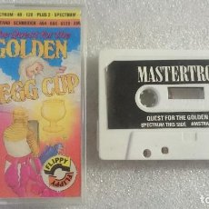 Videojuegos y Consolas: THE QUEST FOR THE GOLDEN CUP AMSTRAD 464 664 CASSETTE SPECTRUM ZX 48K 128K. Lote 67974629
