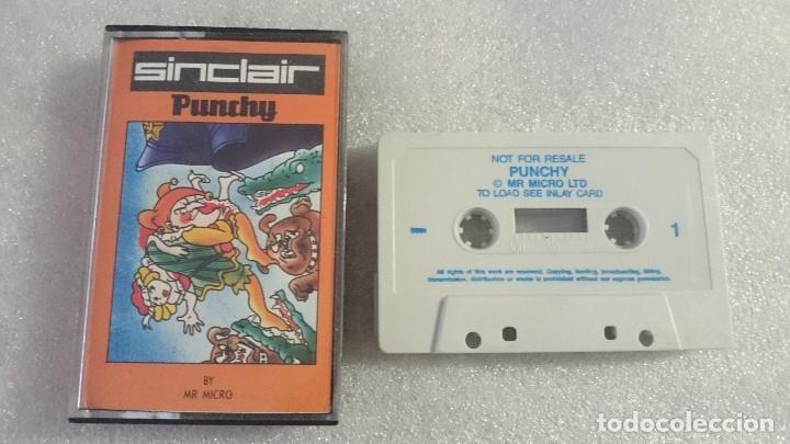 PUNCHY AMSTRAD CPC 646 464 PLUS 1268 CASSETTE (Juguetes - Videojuegos y Consolas - Amstrad)